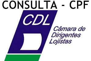 Consulta CPF CDL