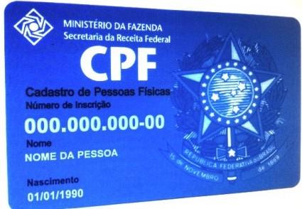 Solicitar CPF pela Internet