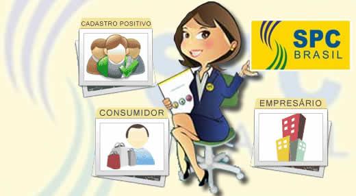 Consulta SPC - Logo SPC Brasil - Imagem reprodução