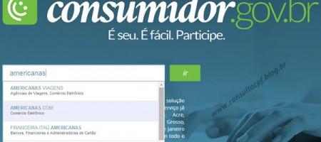 Consumidor.gov.br - Site de Reclamações do Governo